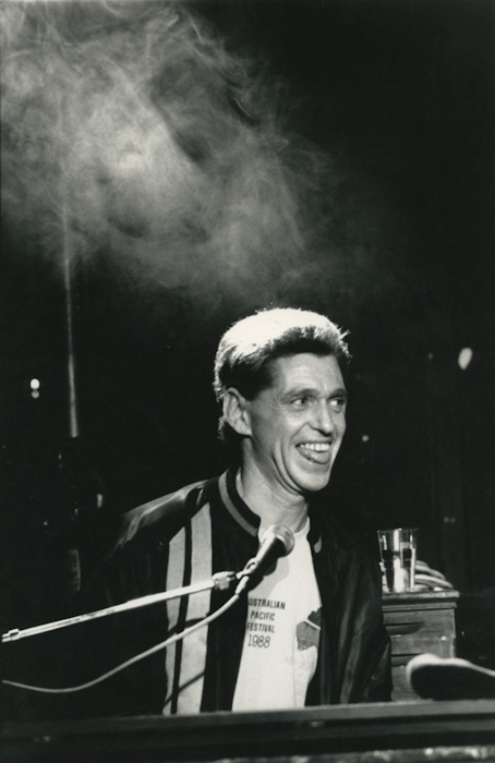 Georgie Fame and the Blue Flames aux Rencontres Trans Musicales de Rennes (1988) | Association Trans Musicales