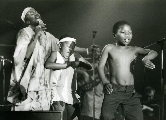 Chicco aux Rencontres Trans Musicales de Rennes (1989)   Association Trans Musicales