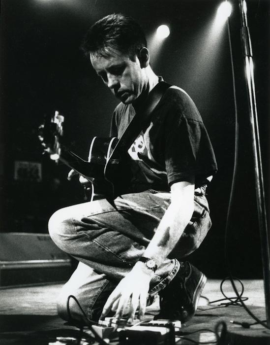Luka Bloom aux Rencontres Trans Musicales de Rennes (1990) | Association Trans Musicales