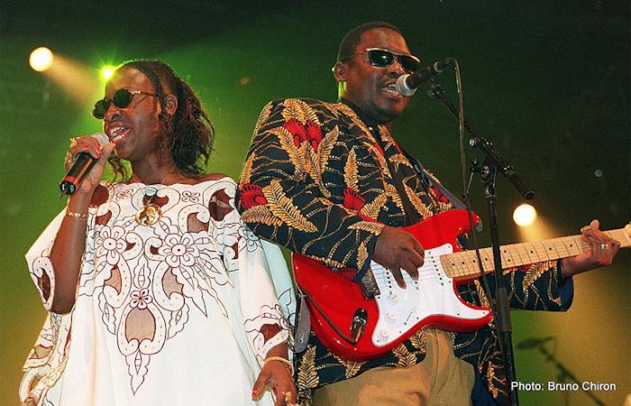 Amadou Mariam aux Rencontres Trans Musicales de Rennes (1998) | Association Trans Musicales