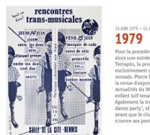 Lien vers la frise présentant les affiches des Trans