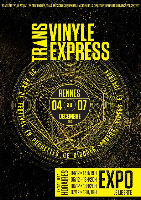 Visuel de l'exposition Trans Vinyle Express