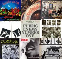 Lien vers la liste des albums en écoute sur le site de Mémoires de Trans